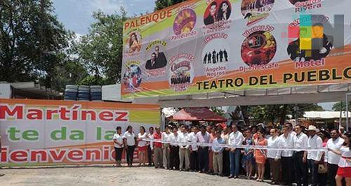 Inicia la Expo Feria de los Cítricos en Martínez de la Torre