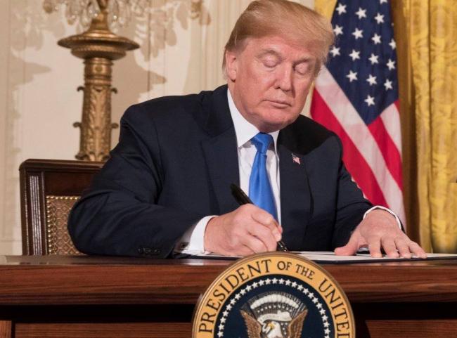 Encabeza Trump firma de Acuerdo Modificatorio del T-MEC
