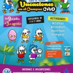 Llegan las Vacaciones en el Campus CAD como opción para los niños y jóvenes este verano en Xalapa