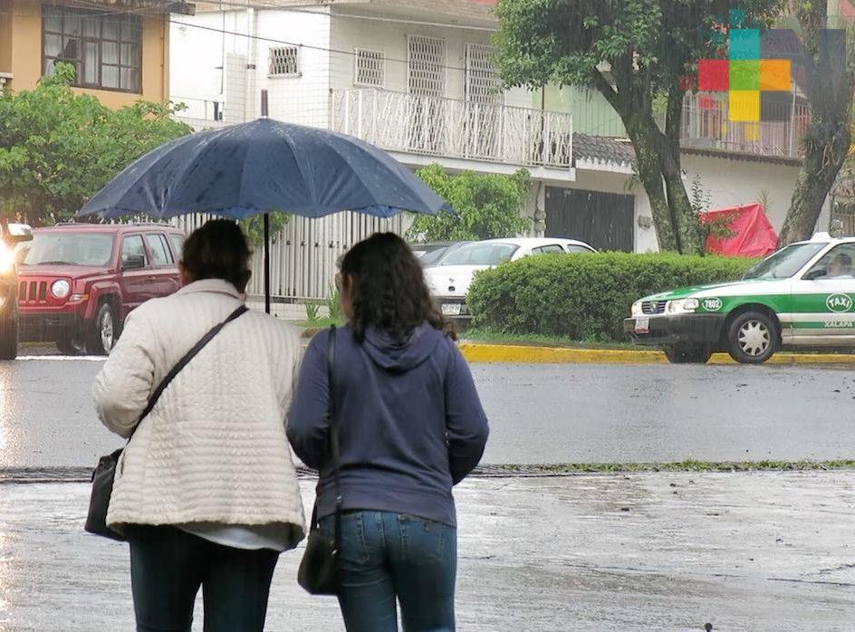 Aumento de lluvias desde hoy hasta el fin de semana; recomiendan a la población mantenerse alerta