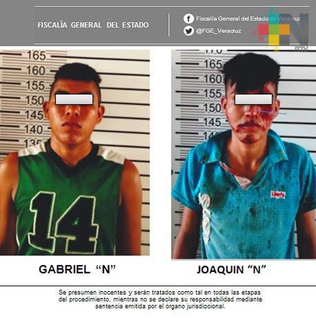 Obtiene Fiscalía Regional Veracruz dos vinculaciones a proceso por robos a comercios