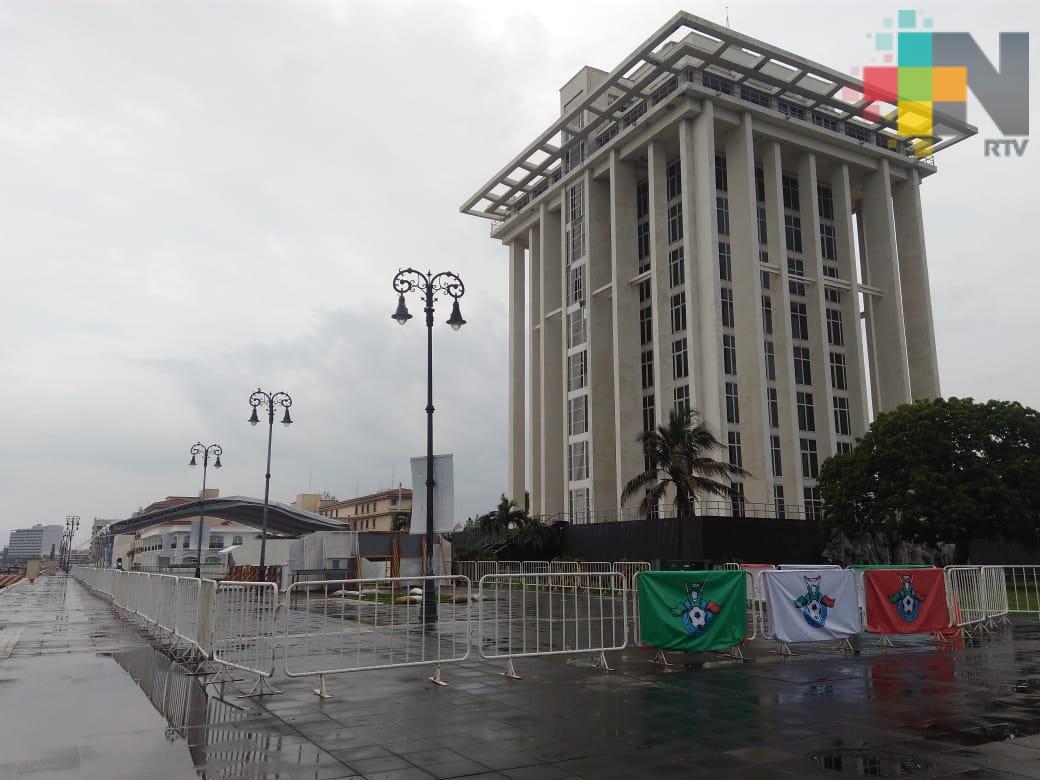 En el malecón de Veracruz se podrá disfrutar del Mundial Rusia 2018