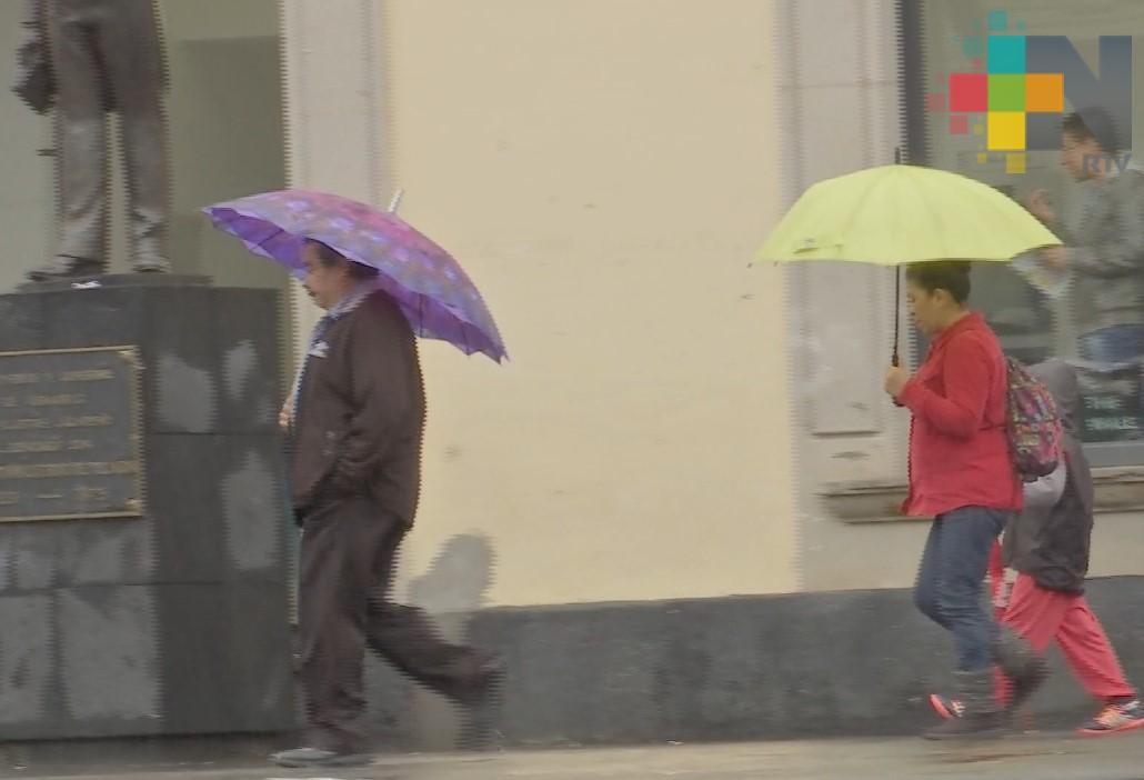 Probable aumento de lluvias y granizadas en Veracruz
