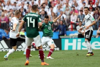 Contra los pronósticos, México le pega 1-0 a Alemania