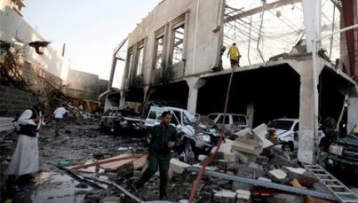 Coalición árabe intensifica bombardeos contra rebeldes en Yemen