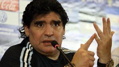 Maradona desaprueba que Mundial 2026 sea en México, EUA y Canadá