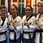 México se alza con título y 14 medallas en Abierto de Taekwondo
