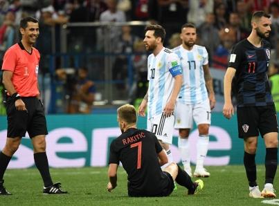 Argentina cae 3-0 ante Croacia y peligra en Rusia 2018