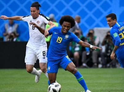 Brasil necesitó del tiempo agregado para vencer a Keylor Navas y Costa Rica
