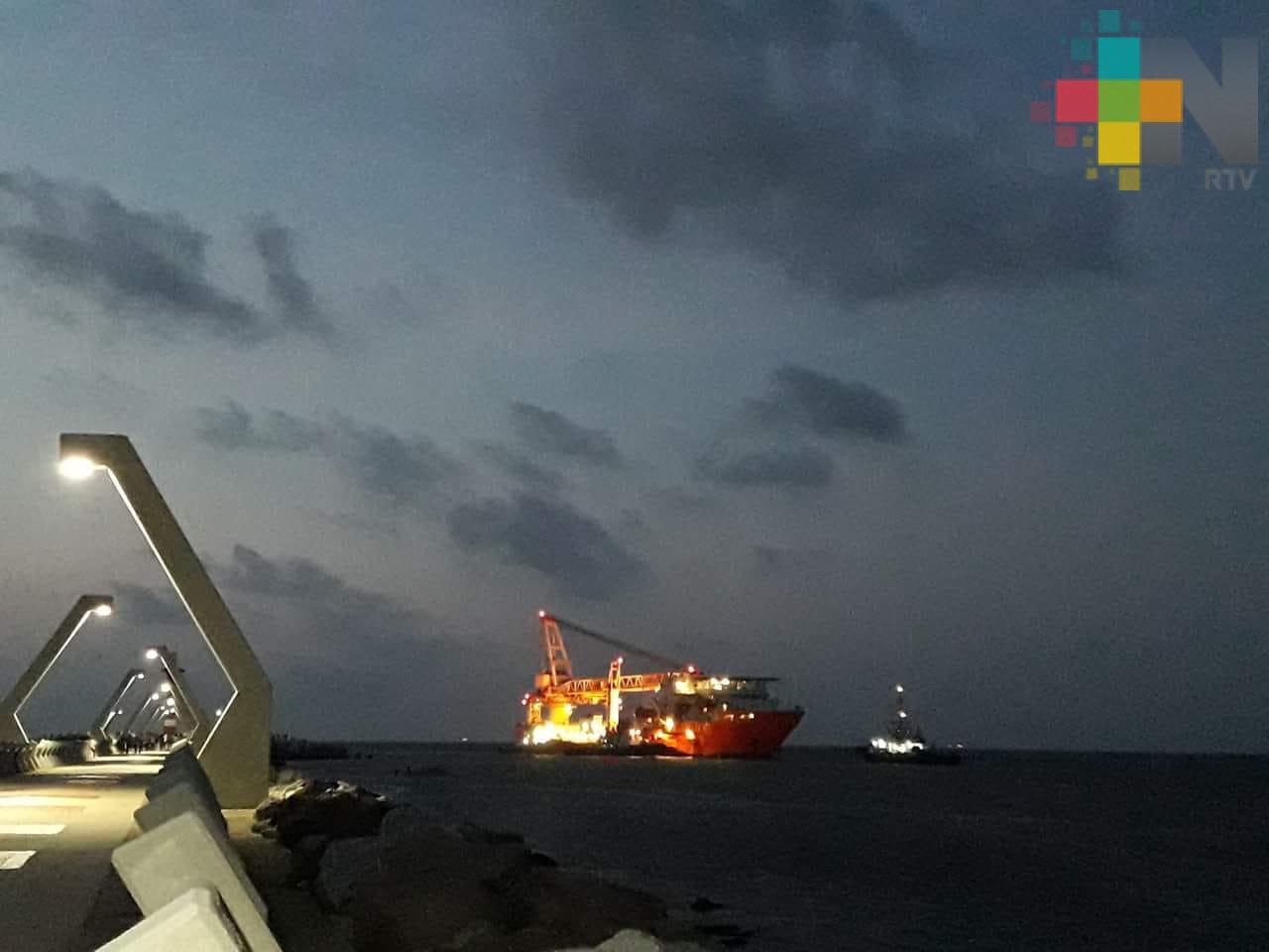 Para salir de Coatzacoalcos barco Caballo Marango deberá rehabilitar equipos de seguridad