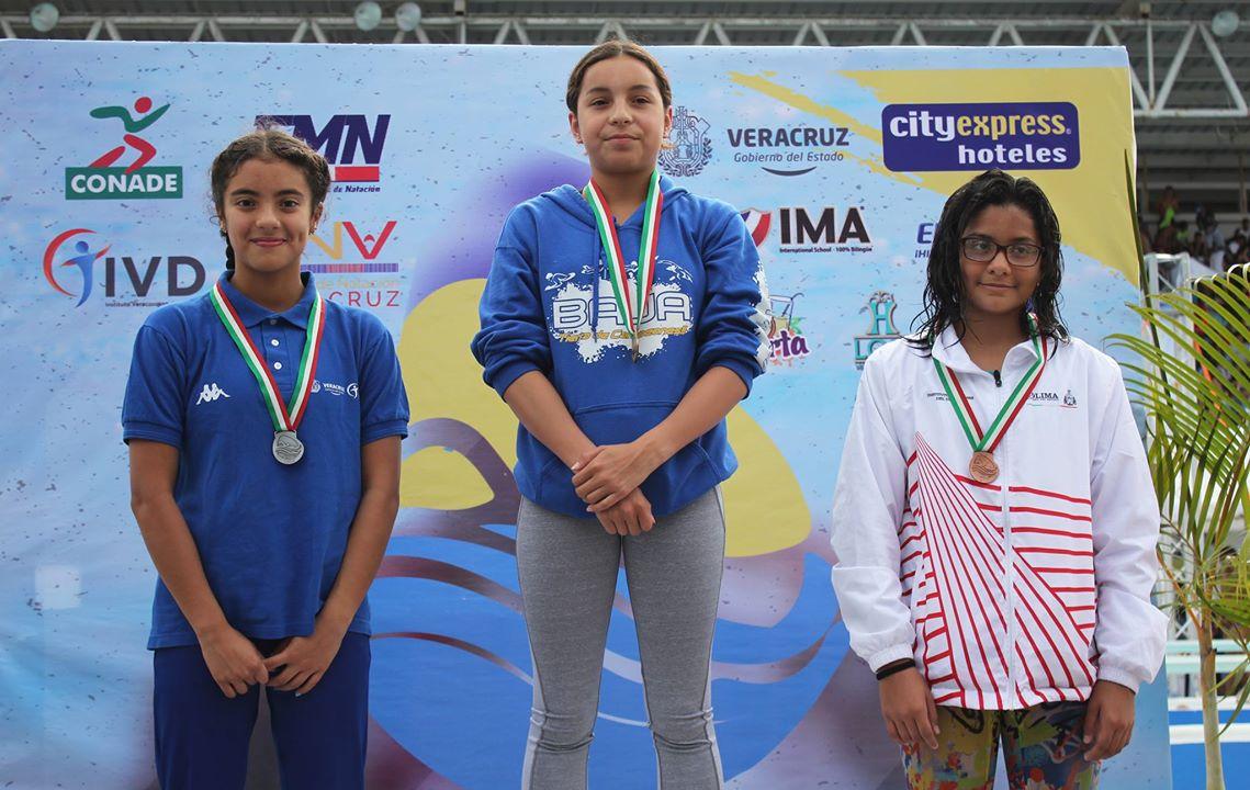 Dan nadadores 4 medallas para Veracruz