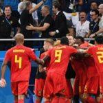 Bélgica elimina 3-2 a Japón y va contra Brasil en cuartos de final