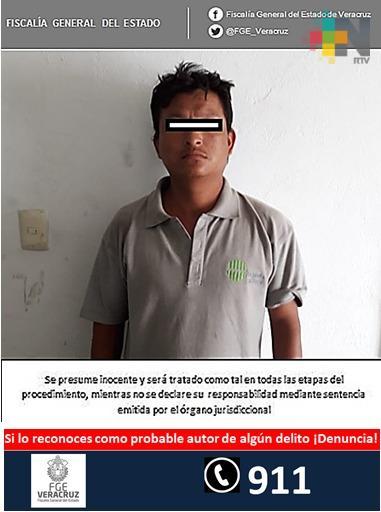 Vinculan a proceso a imputado por robo, en Martínez de la Torre