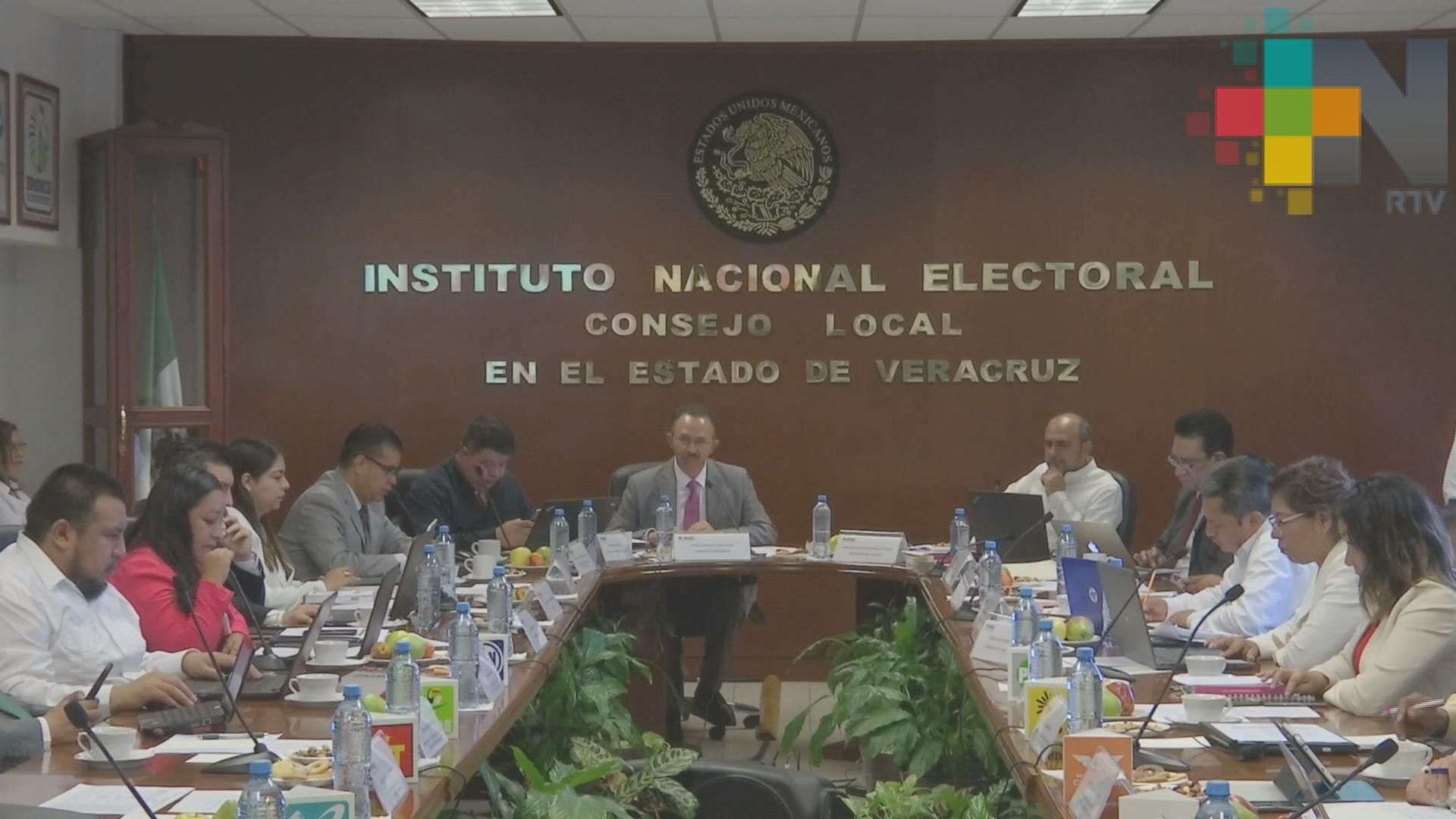 INE Veracruz concluye cómputo de la elección presidencial, continúa con diputados federales