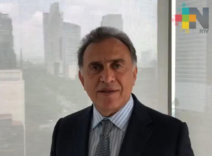 Denuncias contra Yunes Linares por extorsión se judicializarán: Reyes Peralta