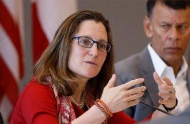 Ministros canadienses abordarán tema de TLCAN en su visita a México