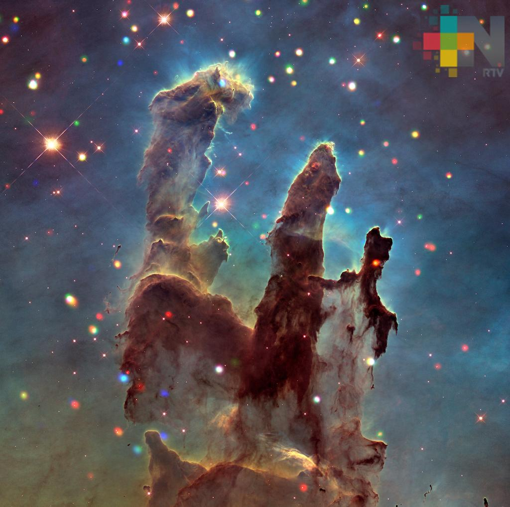 NASA muestra nueva fotografía de la Nebulosa del Águila