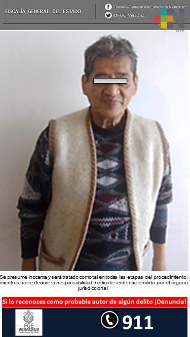 Ratifican prisión preventiva contra probable pederasta, en Jalacingo