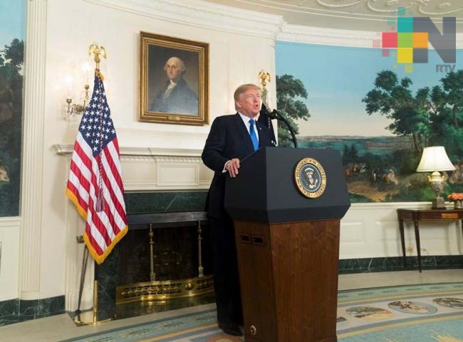 Felicita Trump a López Obrador por su triunfo electoral