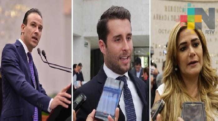 """Entregan constancia de mayoría a diputados de """"Por Veracruz al Frente"""" en Veracruz y Boca del Río"""