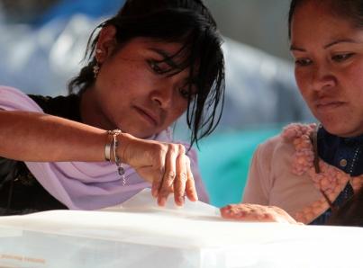INE llama a organizaciones ciudadanas colaboren en promover voto