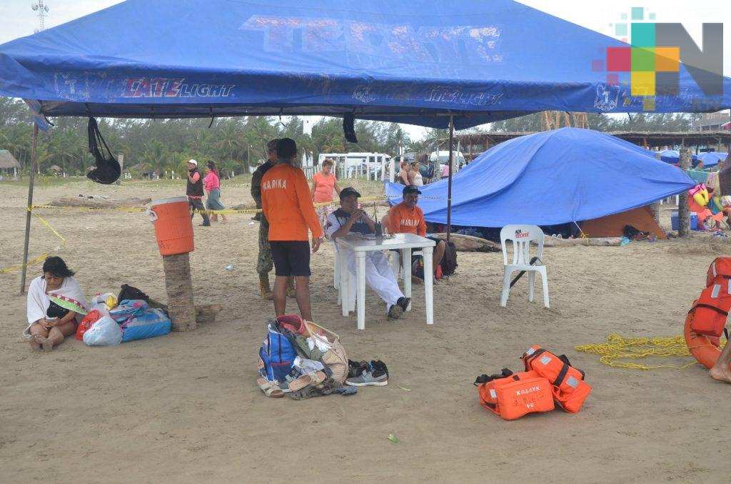 En playas de Tuxpan ponen en marcha Operación Salvavidas 2018