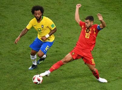 Bélgica sigue con su sueño, elimina a Brasil y es semifinalista en Rusia