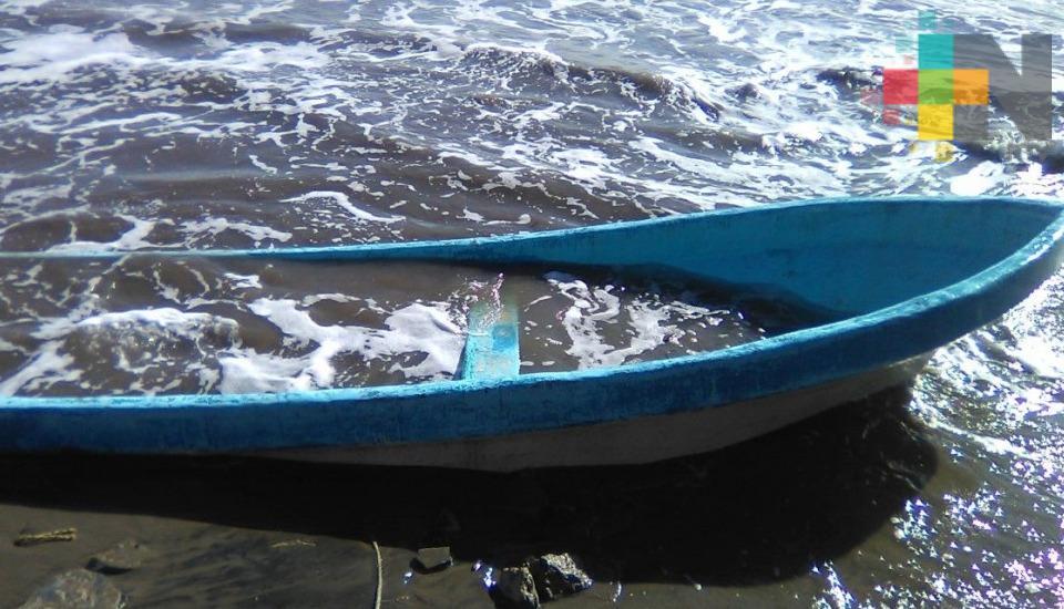 Pescadores del sur de Veracruz son afectados por los fenómenos meteorológicos