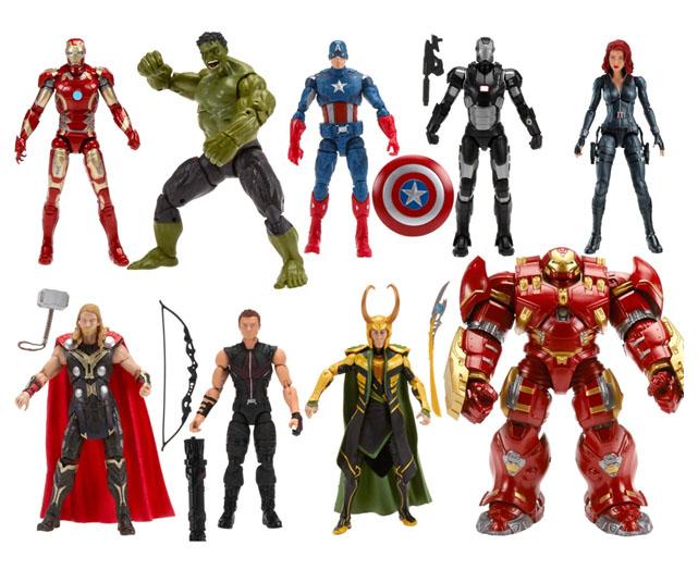 Hasbro revela en México tres figuras exclusivas de Marvel Legends