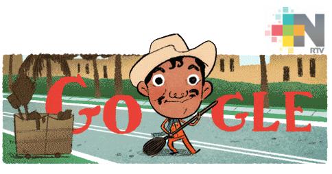 Homenaje a «Cantinflas» con doodle en aniversario de su nacimiento