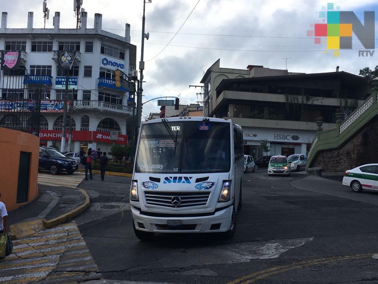Gobierno del Estado activó Programa de Registro Vehicular Permanente del Servicio de Transporte Público