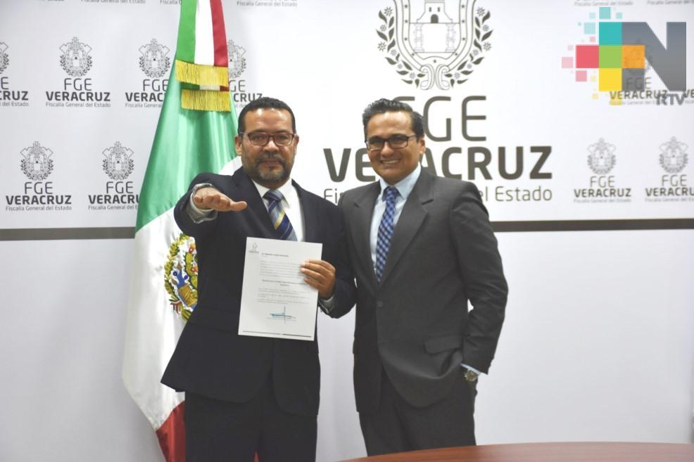 Nombran a Alejandro Landa Hernández como Director de la Unidad Especializada en Combate al Secuestro
