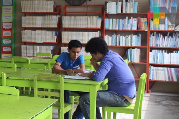 Biblioteca rodante en Tuxpan ha obtenido buenos resultados con los niños