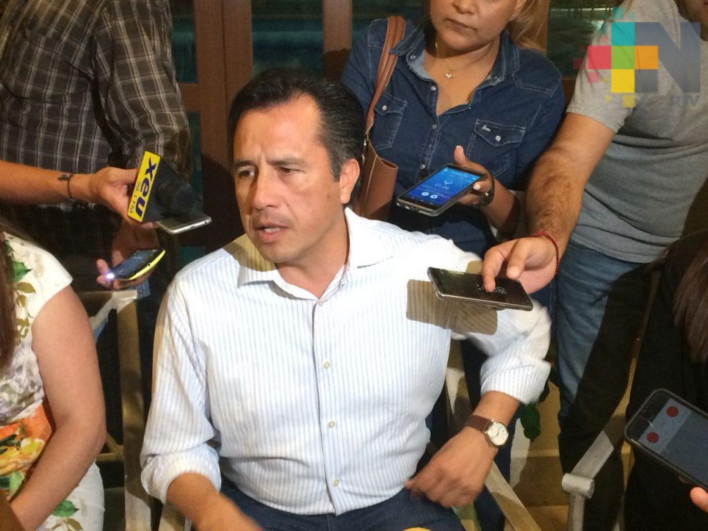 Se buscará garantizar la autonomía del Poder Judicial: Cuitláhuac García Jiménez