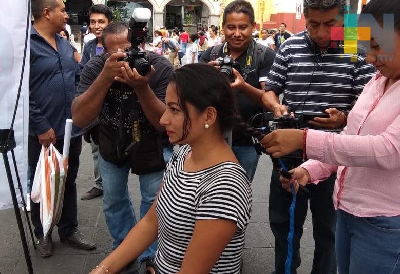 Realizan campaña de donación de cabello en Xalapa