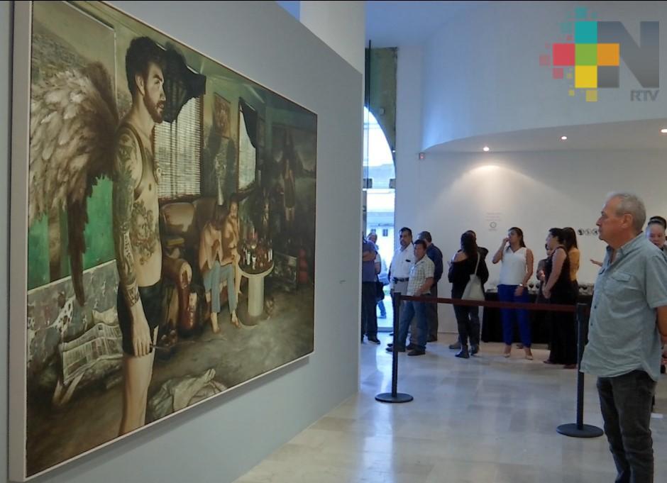 El artista plástico Edgar Cano inaugura exposición en la Pinacoteca Diego Rivera de Xalapa