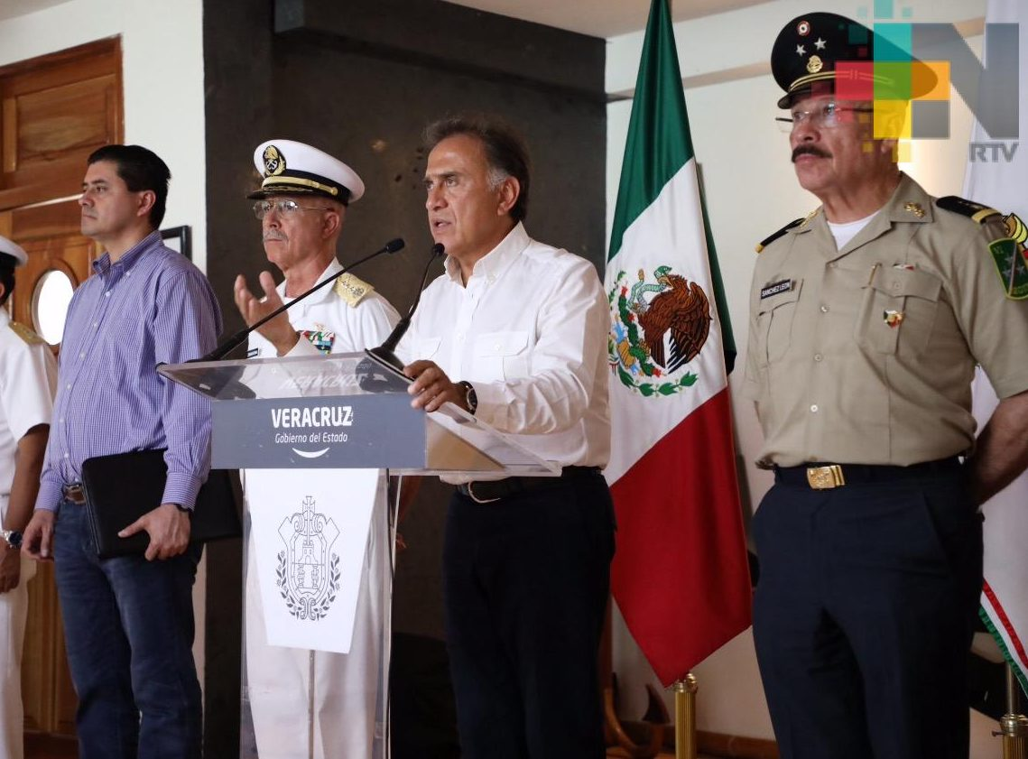 Se fortalecen los operativos de seguridad en la zona sur del estado: Gobernador Yunes
