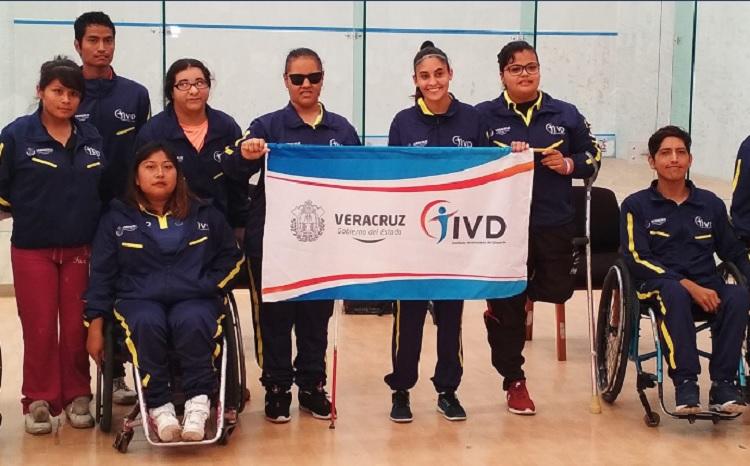 Veracruz listo para competir en la Paralimpiada Nacional