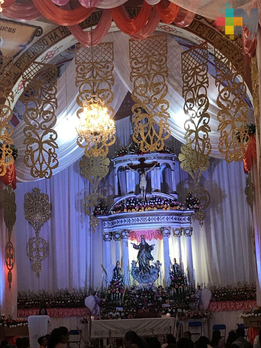 Celebra Jilotepec a la virgen de La Asunción