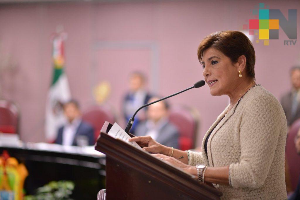Condena María Elisa Manterola Sainz toma del Congreso del Estado