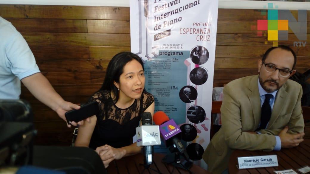 Invitan al Primer Festival Internacional de Piano