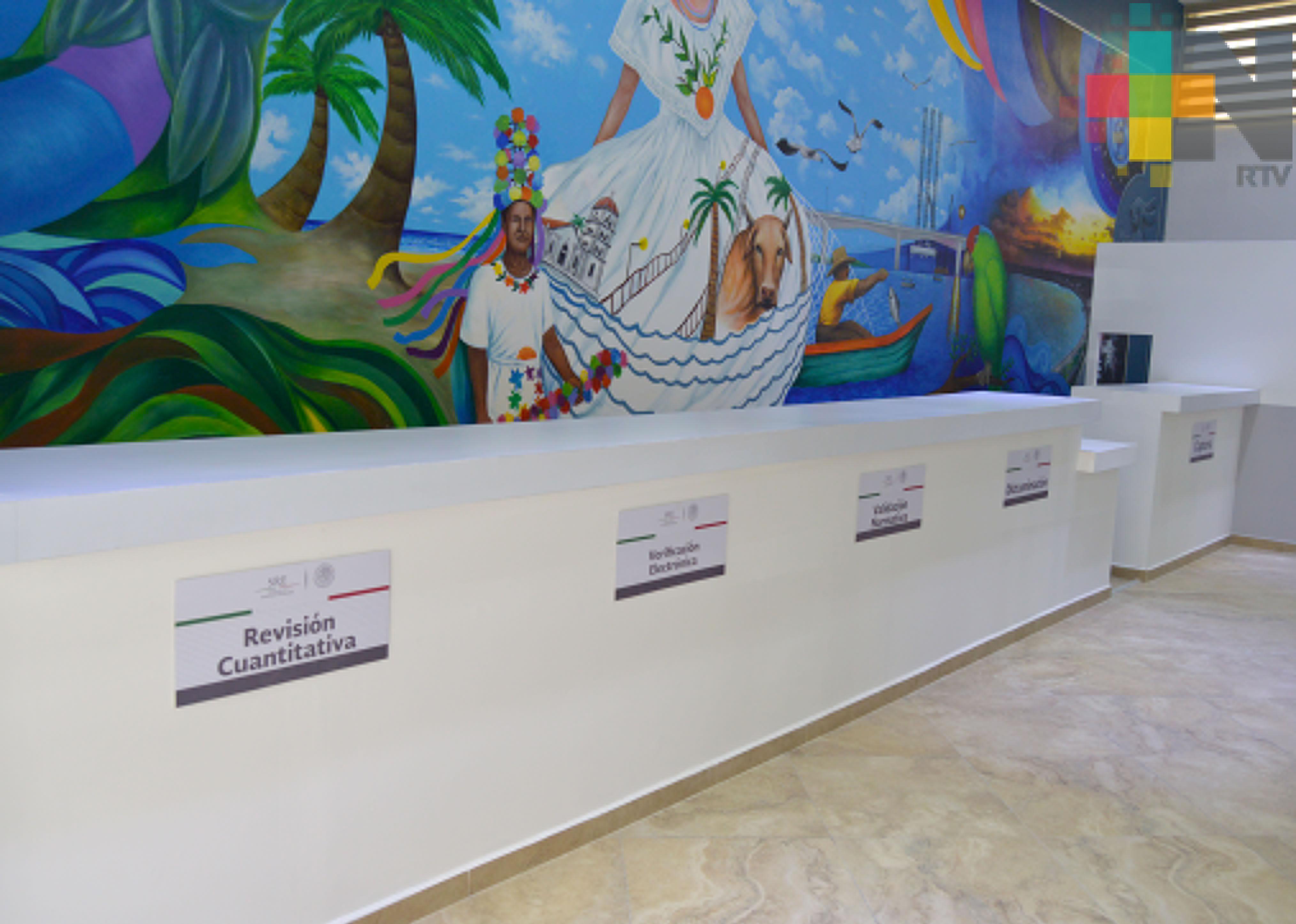 Nuevas oficinas de SRE en Tuxpan tendrán mejor funcionalidad