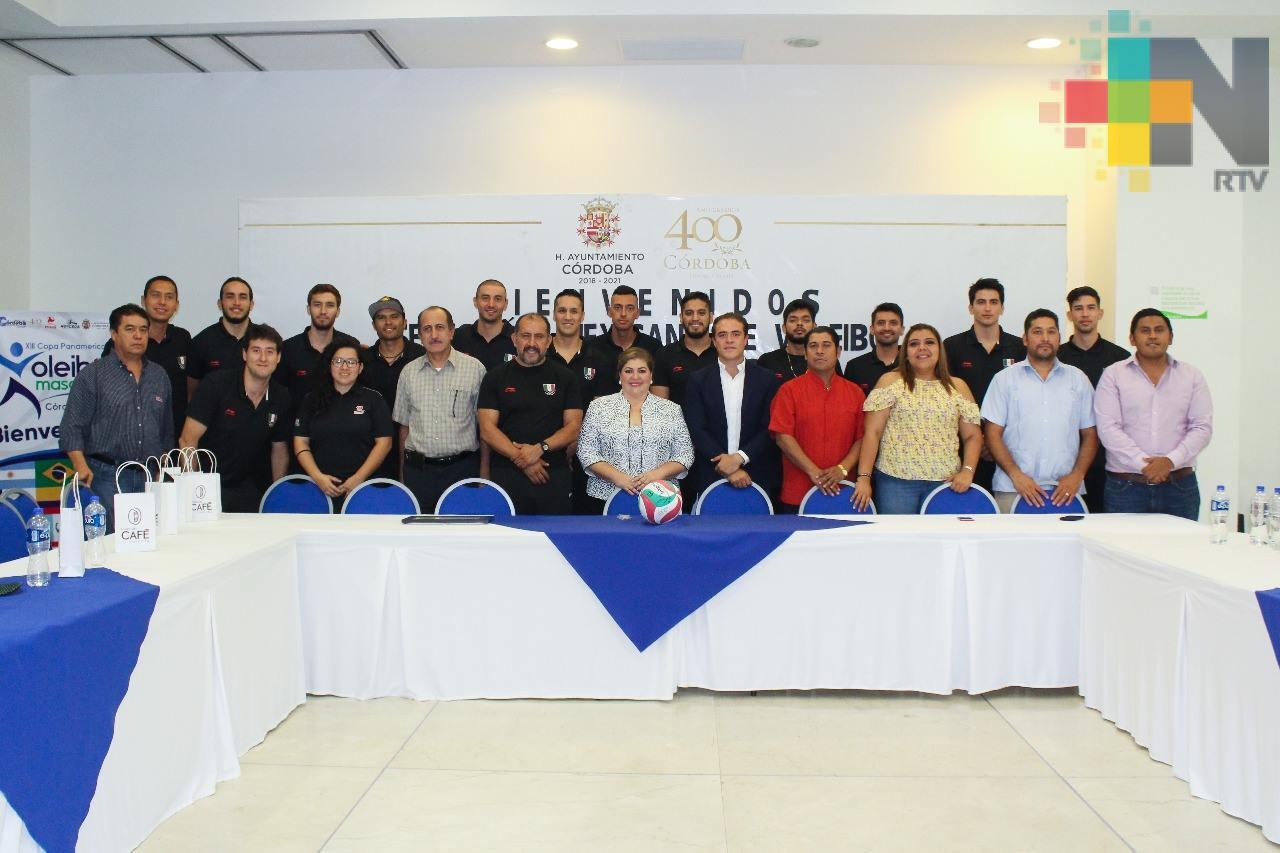 Llega a Córdoba Selección Mexicana de Voleibol