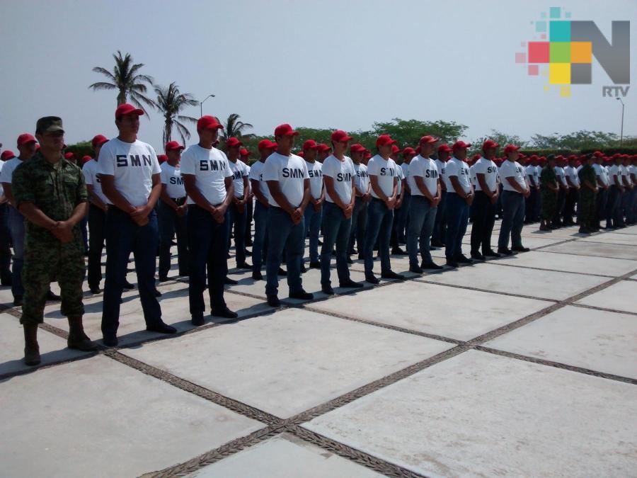 Invitan a jóvenes tuxpeños a formar parte de la sexta compañía del Servicio Militar Nacional