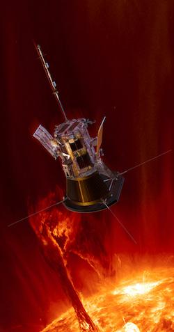Con sonda Parker sabremos porque la atmósfera del Sol es tan caliente