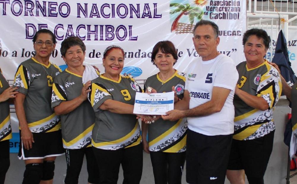 Finaliza Veracruz en los primeros lugares en el Nacional de Cachibol