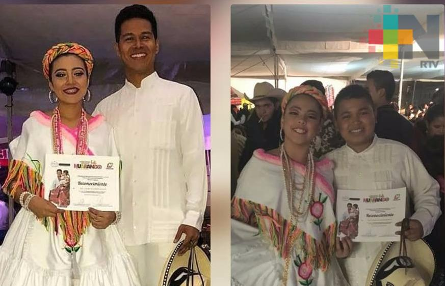 Niños tuxpeños ganan el Premio Nacional de Huapango 2018