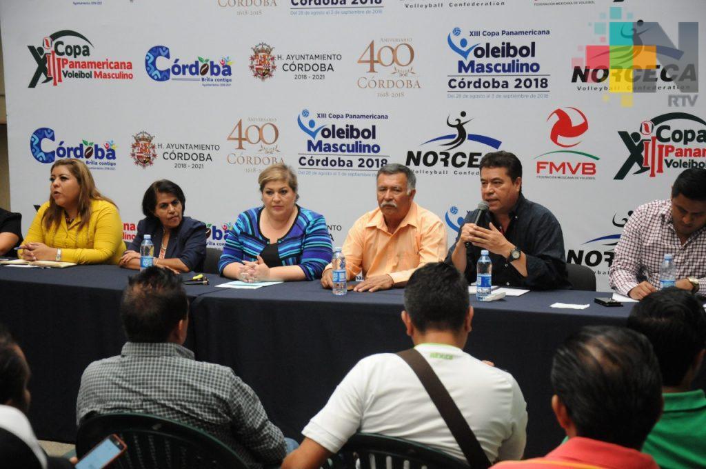 Arribarán a Córdoba exponentes del voleibol masculino para clasificar a los Juegos Panamericanos de Perú 2019