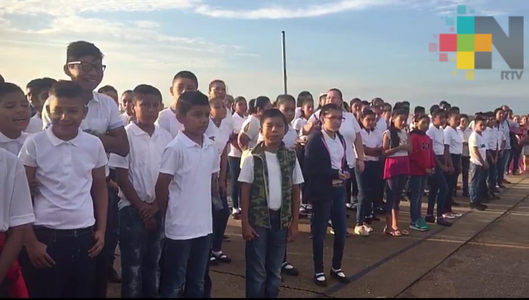 Sin contratiempos inicia ciclo escolar 2018-2019 en el estado de Veracruz