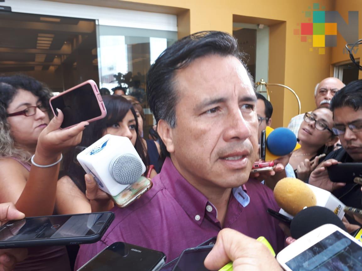 Hasta diciembre presentará su gabinete oficial Cuitláhuac García